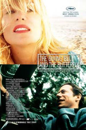 """Poster art for """"The Diving Bell and the Butterfly."""""""