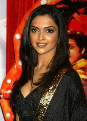 "Actress Deepika Padukone at a London photocall for ""Om Shanti Om."""