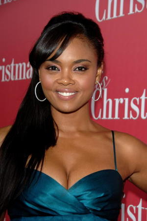 "Actress Sharon Leal at the Hollywood premiere of ""This Christmas."""
