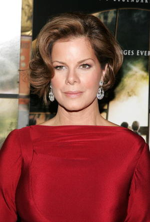 """Actress Marcia Gay Harden at the N.Y. premiere of """"The Mist."""""""