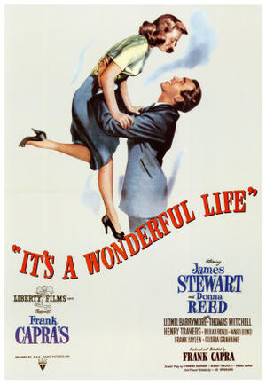 """Poster art for """"It's a Wonderful Life."""""""