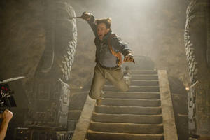 "Brendan Fraser in ""The Mummy: Tomb of the Dragon Emperor."""