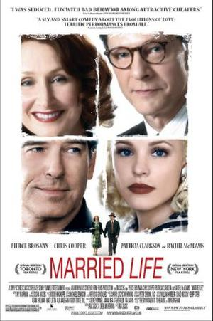 """Poster art for """"Married Life."""""""