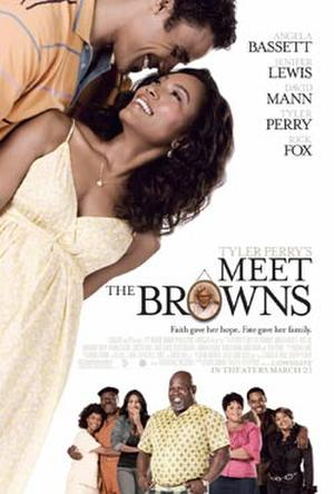"Poster art for ""Meet the Browns."""
