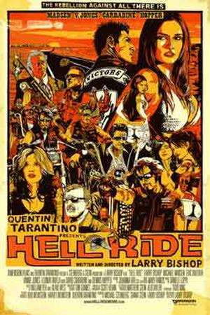 "Poster art for ""Hell Ride."""