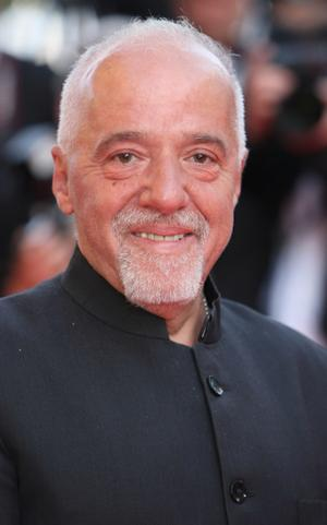 "Writer Paulo Coelho at the premiere of ""Synecdoche, New York"" during the 61st International Cannes Film Festival."