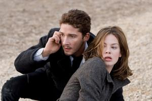 "Shia LaBeouf and Michelle Monaghan in ""Eagle Eye."""