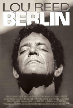 """Poster art for """"Lou Reed's Berlin."""""""