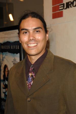 "Dylan Carusona at the California premiere of ""Frozen River."""