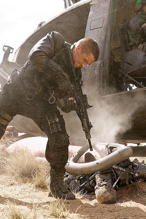 "A scene from ""Terminator Salvation."""