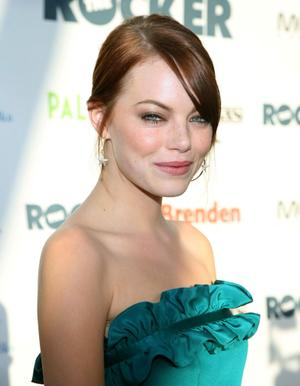 """Emma Stone at the opening night screening of """"The Rocker"""" during the 2008 CineVegas film festival."""
