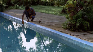 """A scene from """"The Pool."""""""