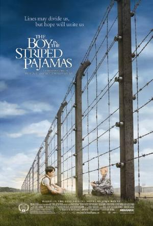 """Poster Art for """"The Boy in the Striped Pajamas."""""""