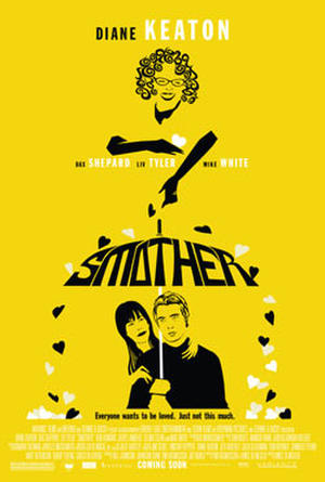 "Poster art for ""Smother."""