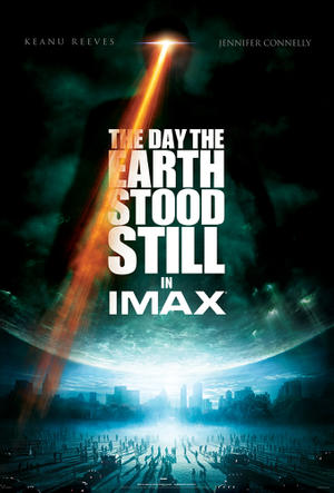 "Poster art for ""The Day the Earth Stood Still: The IMAX Experience."""