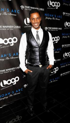 """Darryl Stephens at the California premiere of """"Noah's Arc: Jumping The Broom."""""""