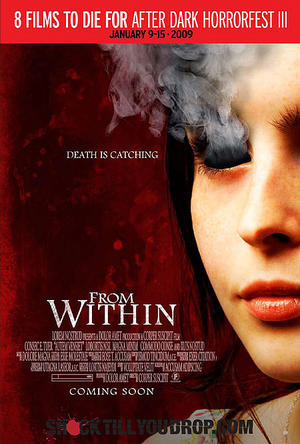 "Poster art for ""From Within."""