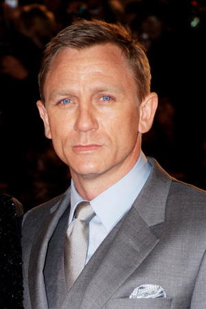 "Daniel Craig at the European premiere of ""Defiance."""