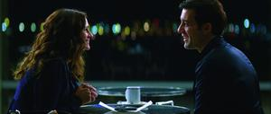 "Julia Roberts as Claire Stenwick and Clive Owen as Ray Koval in ""Duplicity."""