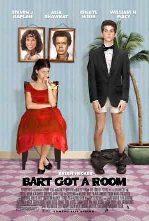 "Poster Art for ""Bart Got a Room."""
