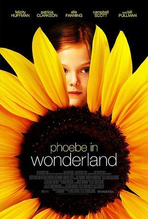 "Poster art for ""Phoebe in Wonderland."""