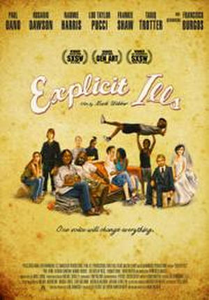 "Poster art for ""Explicit Ills."""