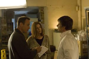 "Jennifer Aniston, Steve Zahn and Stephen Belber in ""Management."""