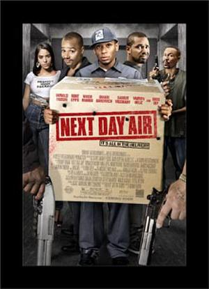 """Poster art for """"Next Day Air."""""""