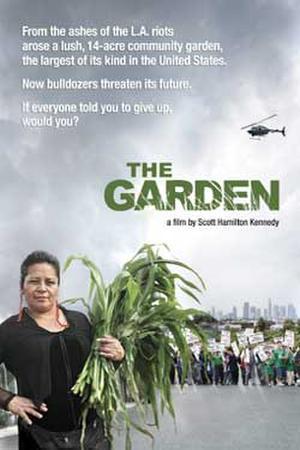 """Poster art for """"The Garden."""""""