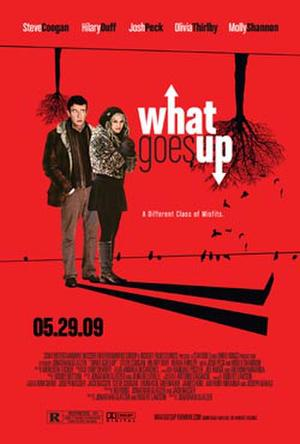 """Poster art for """"What Goes Up."""""""