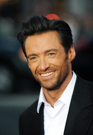 "Hugh Jackman at the California premiere of ""X-Men Origins: Wolverine."""