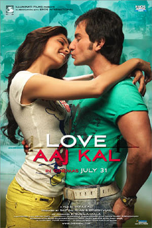 "Poster art for ""Love Aaj Kal."""