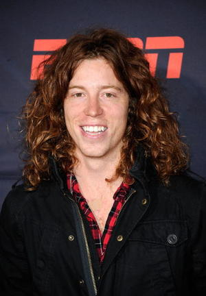 """Shaun White at the California premiere of """"X Games 3D: The Movie."""""""