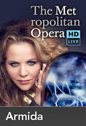 "Poster art for ""The Metropolitan Opera: Armida."""