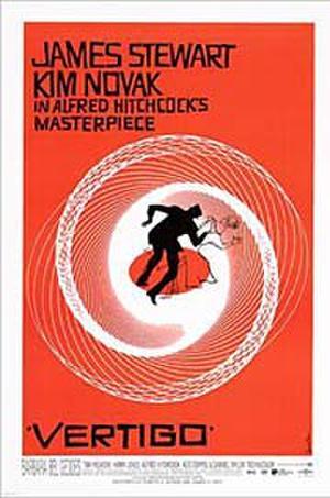 """Poster art for """"Vertigo."""""""