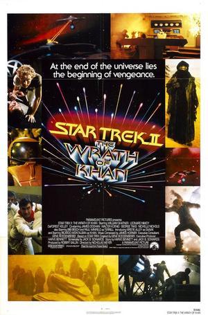 """Poster art for """"Star Trek II."""""""