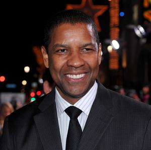 "Denzel Washington at the California premiere of ""The Book Of Eli."""
