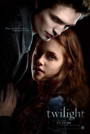 """Poster art for """"Twilight."""""""