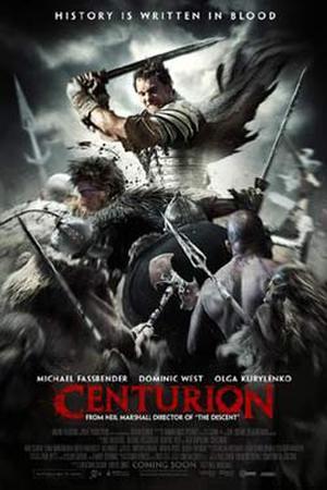 """Poster art for """"Centurion."""""""
