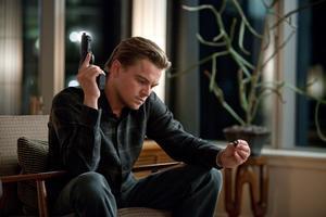"Leonardo DiCaprio as Cobb in ""Inception."""