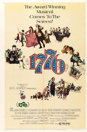 """Poster art for """"1776."""""""