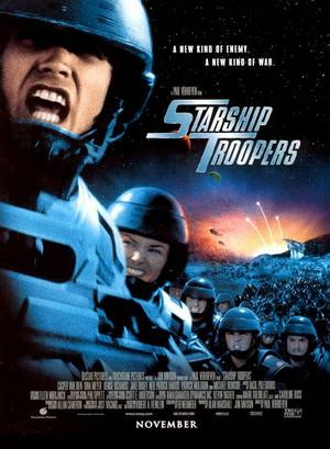 """Poster art for """"Starship Troopers."""""""