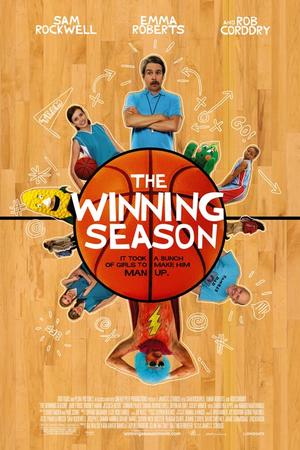 "Poster art for ""The Winning Season."""