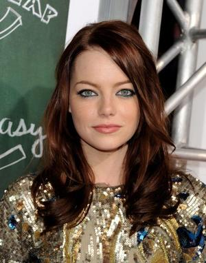 """Emma Stone at the California premiere of """"Easy A."""""""