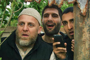 "A scene from ""Four Lions"""