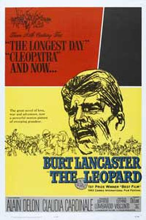 "Poster art for ""The Leopard."""