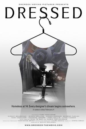 "Poster art for ""Dressed"""
