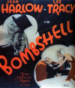 """Poster art for """"Bombshell."""""""