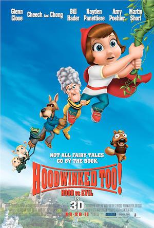 """Poster art for """"Hoodwinked Too! Hood vs. Evil."""""""