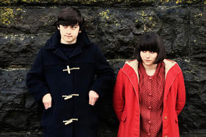 "Craig Roberts as Oliver Tate and Yasmin Paige as Jordana in ""Submarine."""